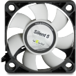 Gelid Silent 5, 50mm Quiet Case Fan