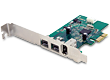 StarTech Dual 800 Mbps + Single 400 IEEE 1394 FireWire PCIe Card